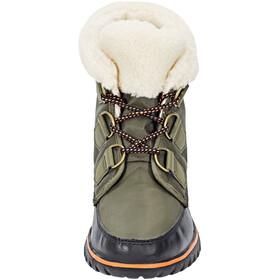 Sorel Cozy Carnival Naiset kengät , musta/oliivi